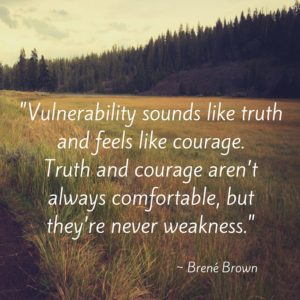 Brene Brown - vulnerability